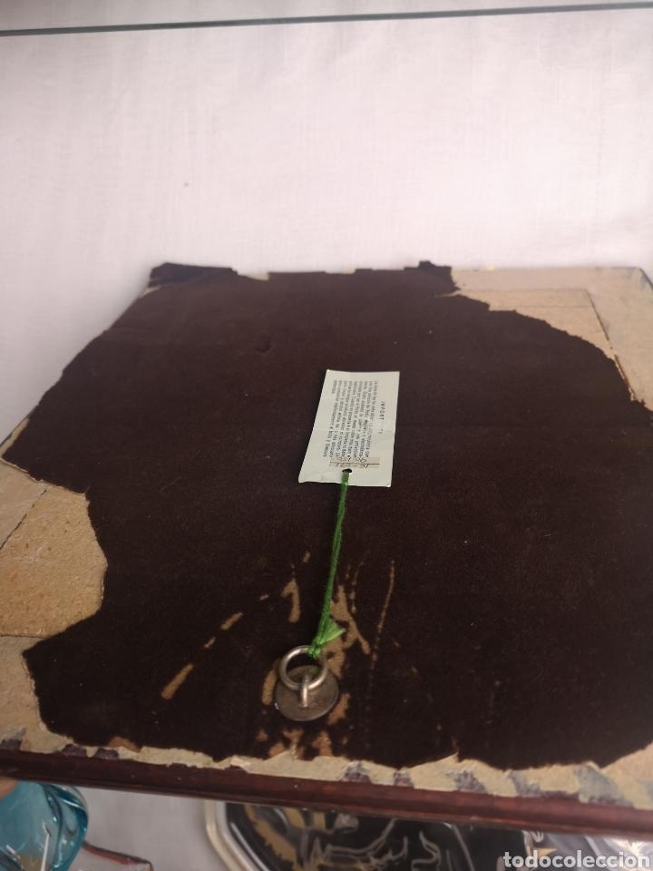 Antigüedades: Cuadro esmaltado - Foto 3 - 160346149