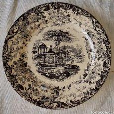 Antigüedades: ANTIGUO PLATO PICKMAN. Lote 160346841