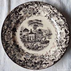Antigüedades: ANTIGUO PLATO PICKMAN. Lote 160346956