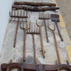 Antigüedades: ANTIGÜA COLECCIÓN DE APEROS DE TRABAJO. Lote 160348590