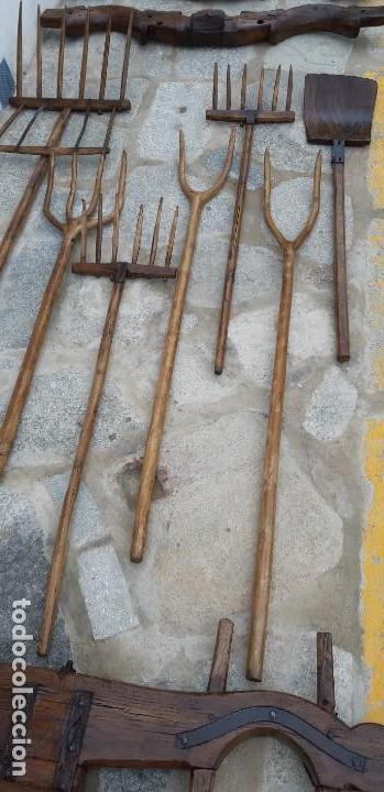 Antigüedades: Antigüa Colección de aperos de trabajo - Foto 3 - 160348590