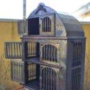 Antigüedades: EXCEPCIONAL ALACENA-FRESQUERA. Lote 160363314
