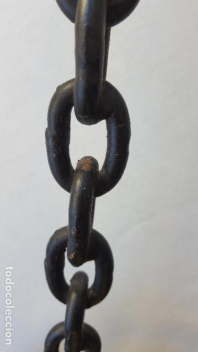 Antigüedades: ANTIGUO VELÓN DE FORJA. AÑOS 60 - Foto 4 - 160380462