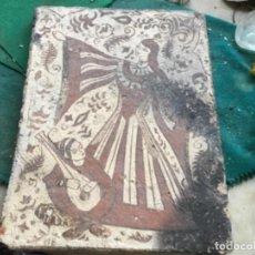 Antigüedades: ANTIGUO SOCARRAT VALENCIANO 25 X 33. Lote 160380866