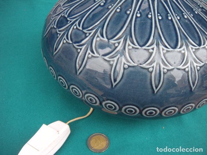 Antigüedades: LÁMPARA LLADRÓ PORCELANA - Foto 3 - 160390910