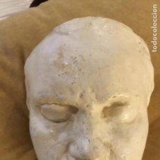 Antigüedades: MÁSCARA DE BEETHOVEN. Lote 160402466