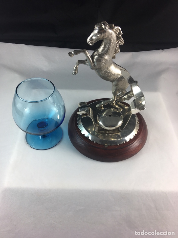 Antigüedades: Precioso calientacopas cognac Calentador de copas restaurado -(19097) - Foto 4 - 160422402