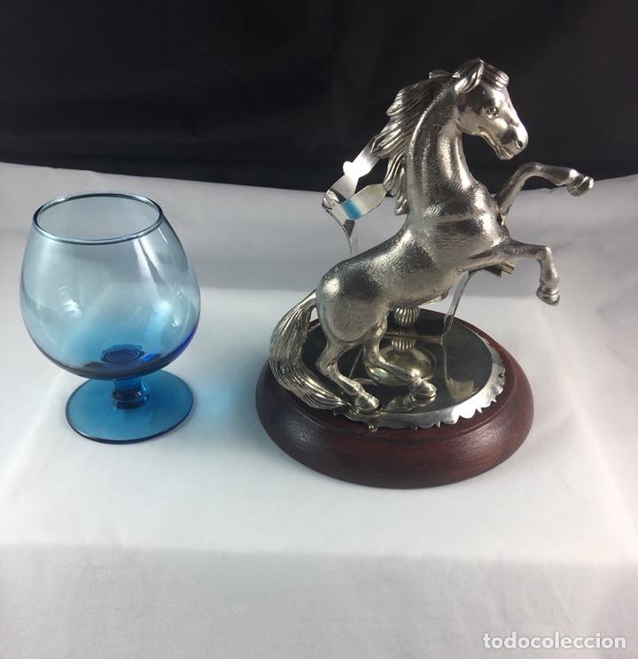 Antigüedades: Precioso calientacopas cognac Calentador de copas restaurado -(19097) - Foto 5 - 160422402