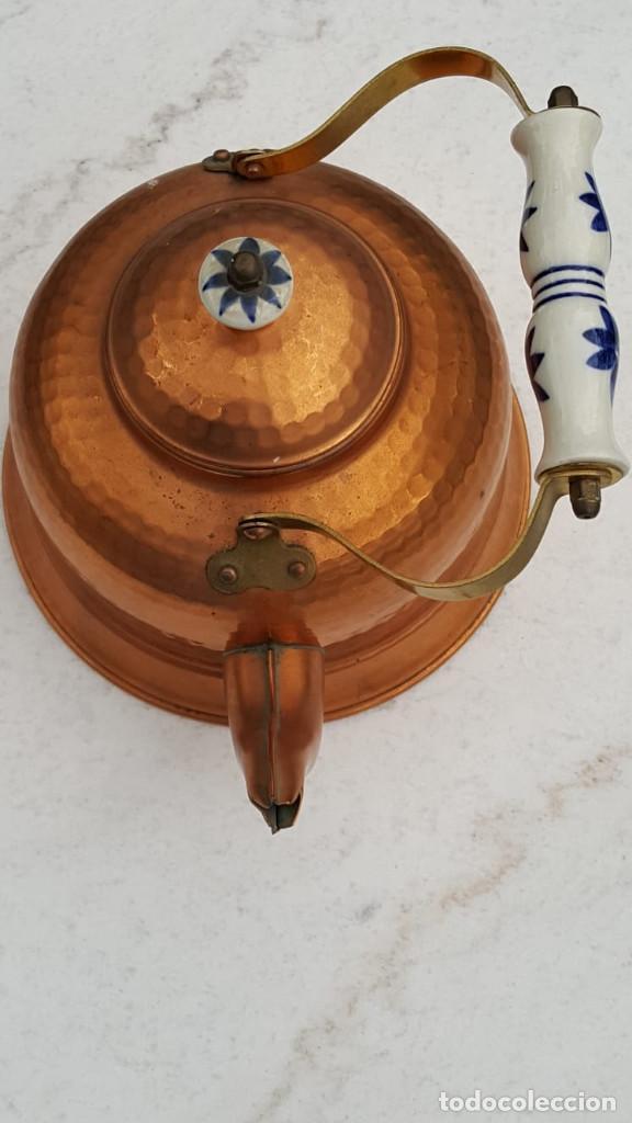 Antigüedades: Tetera de cobre - Foto 2 - 160429894