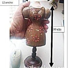Antigüedades: PEQUEÑO MANIQUÍ DE MADERA. VER TODAS LAS FOTOS. . Lote 160443462