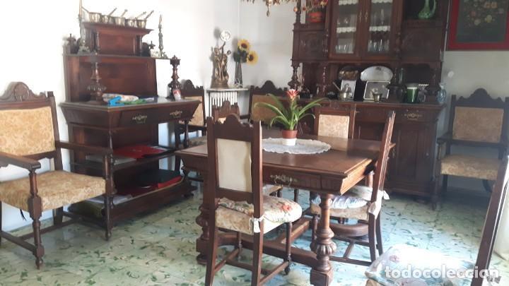 comedor completo en roble. mesa, aparador, trin - Buy Antique Tables ...