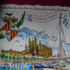 Antigüedades: PAÑUELO SEDA MALLORCA. Lote 160479338