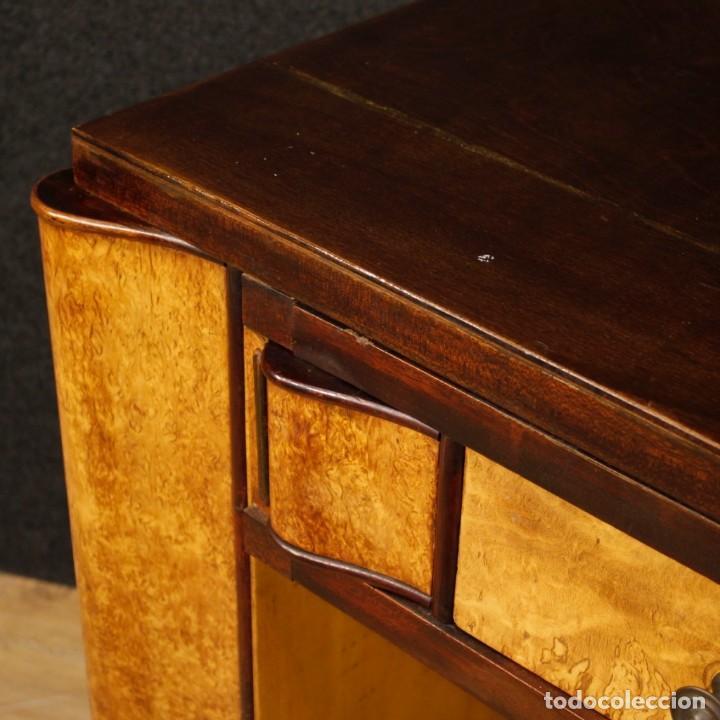 Antigüedades: Escritorio italiano de madera en estilo Art Deco - Foto 3 - 160492506