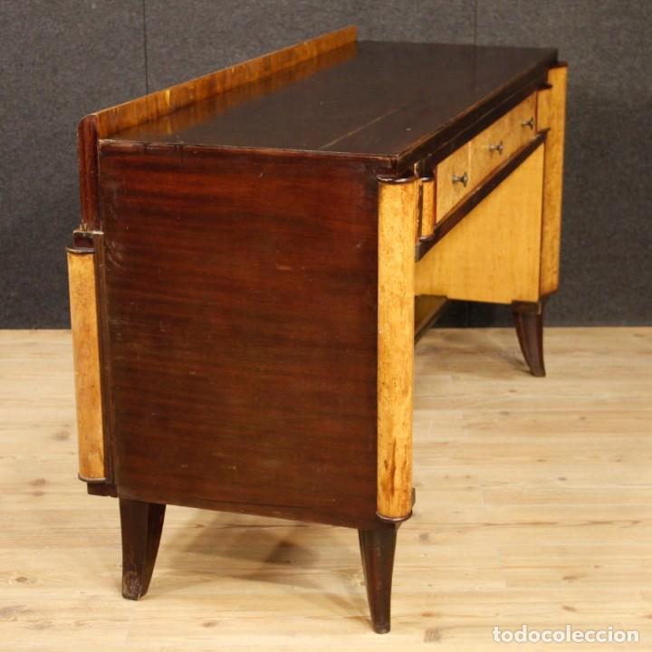 Antigüedades: Escritorio italiano de madera en estilo Art Deco - Foto 5 - 160492506