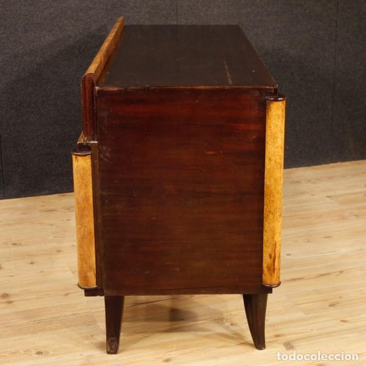 Antigüedades: Escritorio italiano de madera en estilo Art Deco - Foto 6 - 160492506