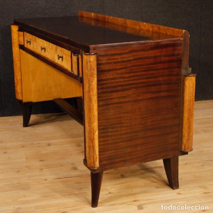 Antigüedades: Escritorio italiano de madera en estilo Art Deco - Foto 8 - 160492506