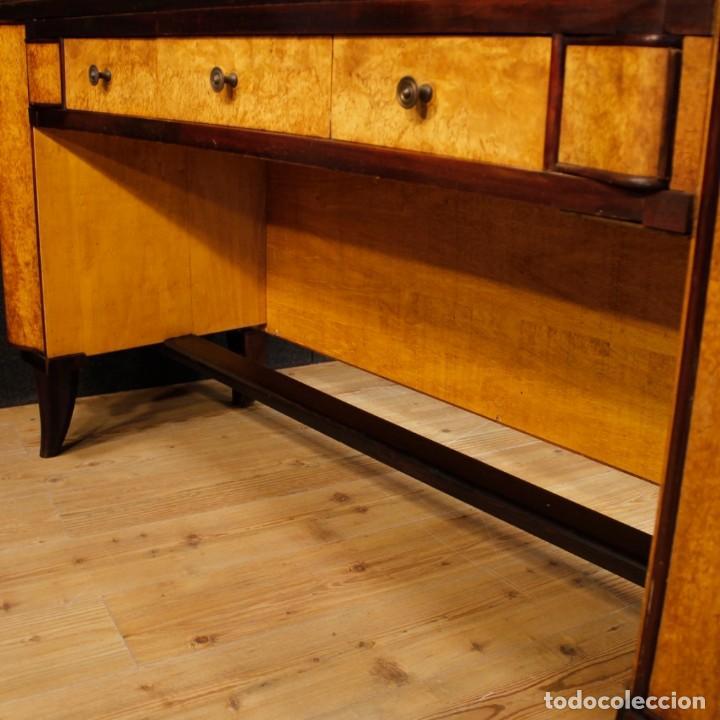 Antigüedades: Escritorio italiano de madera en estilo Art Deco - Foto 9 - 160492506
