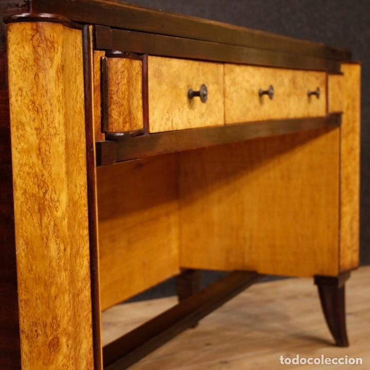 Antigüedades: Escritorio italiano de madera en estilo Art Deco - Foto 11 - 160492506