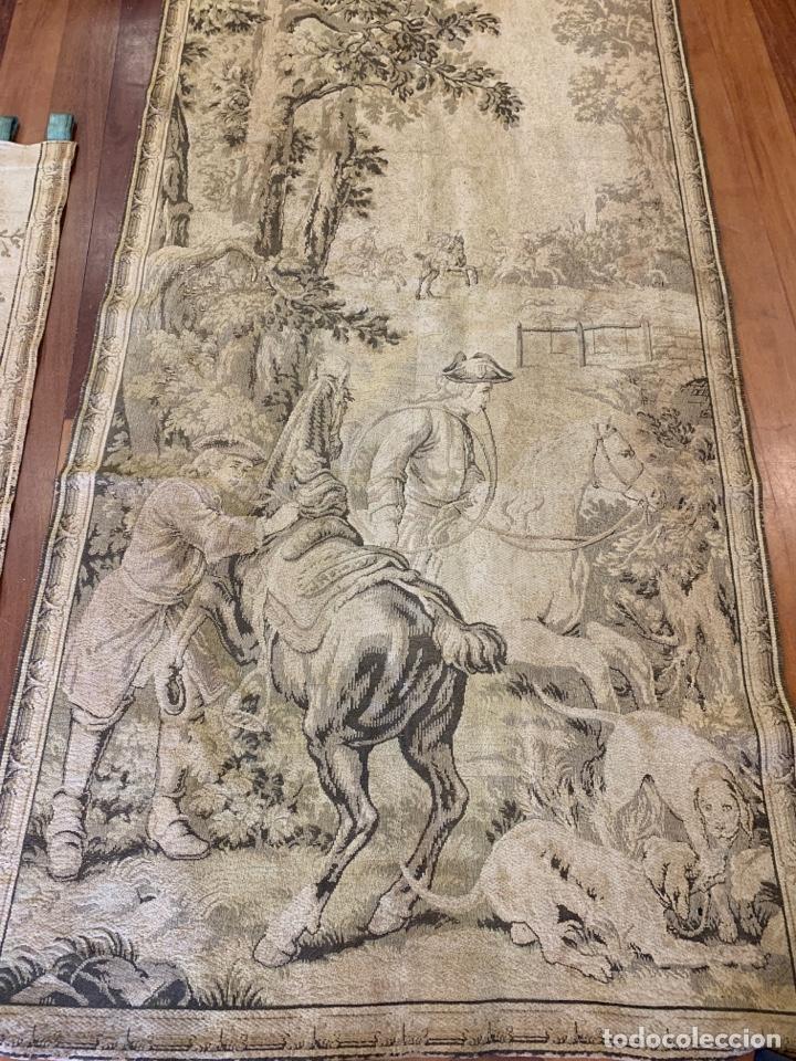 Antigüedades: Antiguo y fabuloso tapiz - Foto 2 - 160499896