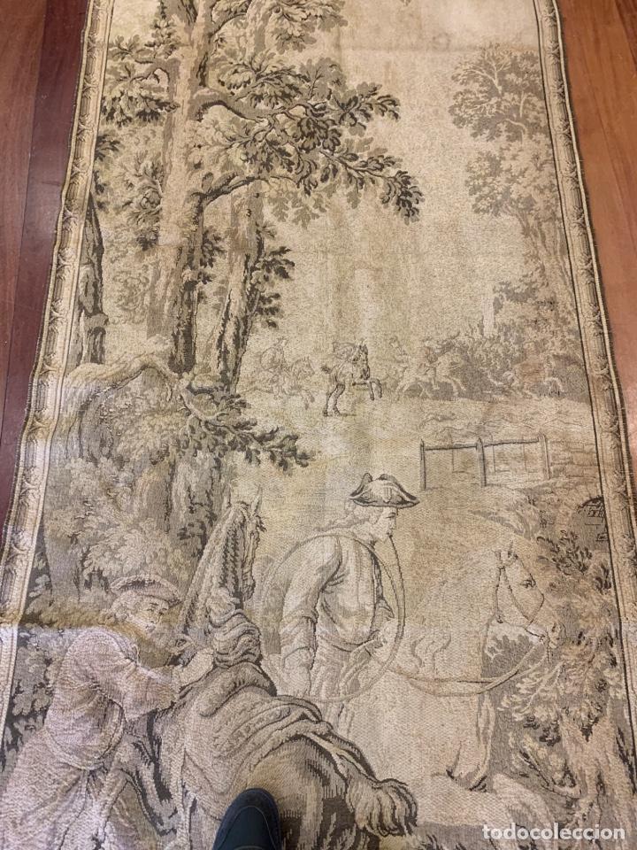 Antigüedades: Antiguo y fabuloso tapiz - Foto 3 - 160499896