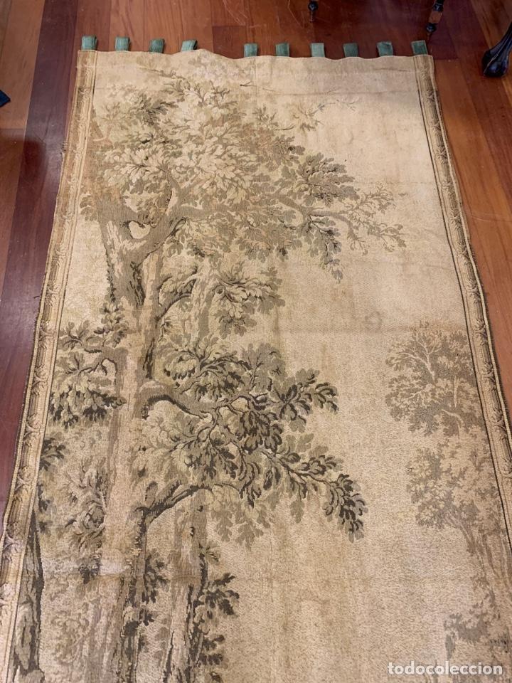 Antigüedades: Antiguo y fabuloso tapiz - Foto 4 - 160499896