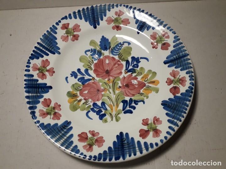 PLATO DE CERAMICA (Antigüedades - Porcelanas y Cerámicas - Otras)