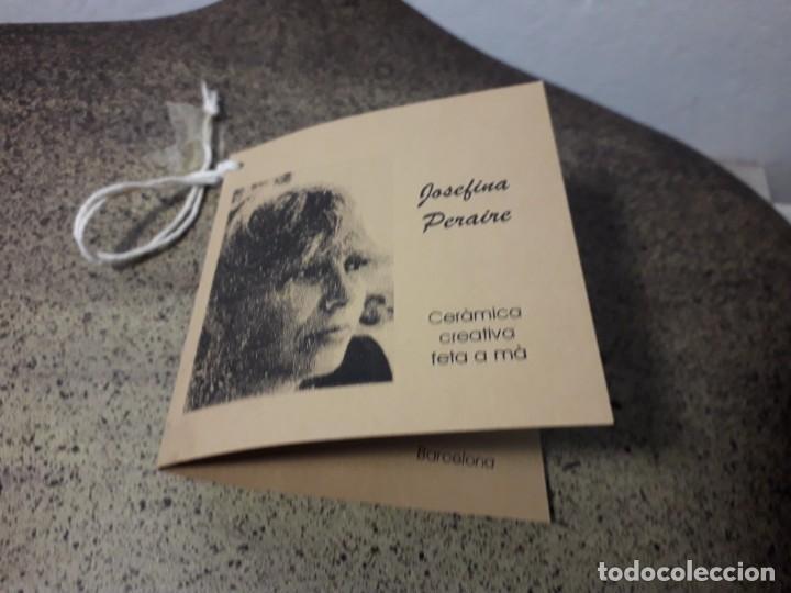 Antigüedades: FLORERO DE CERAMICA - Foto 4 - 160517002