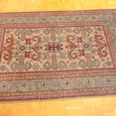 Antigüedades - alfombra hecha a mano, 124x80 cm - 160525730