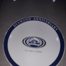 Antigüedades: PLATO EDICION LIMITADA DIAMOND. Lote 160571601