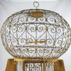 Antigüedades: ANTIGUA JAULA VICTORIANA. Lote 160575818
