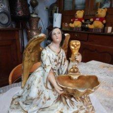 Antigüedades: BENDITERA SOBREMESA SIGLO XIX. Lote 160577034