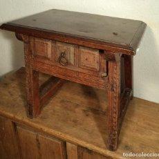 Antigüedades: MESA DE NOGAL. Lote 160633198