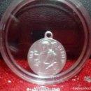 Antigüedades: ANTIGUA MEDALLA *SAN BENITO* - EN ALUMINIO . AÑOS 60/70.. Lote 160636974
