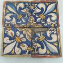 Antigüedades: AZULEJO SIGLO XVIII . Lote 160662218