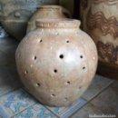 Antigüedades: TINAJA CARACOLERA CALANDA, ALFARERIA ARAGON. Lote 160669246