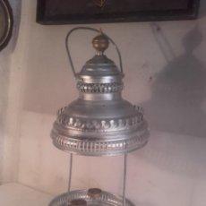 Antigüedades: LAMPARA BOTIVA GRANDE. Lote 160673290