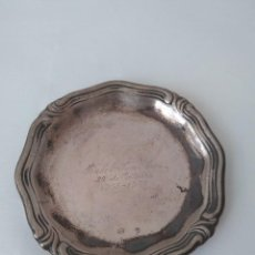 Antigüedades: ANTIGUA BANDEJA DE PLATA MACIZA DE LEY 925. Lote 160686110