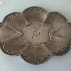 Antigüedades: ANTIGUA BANDEJA DE PLATA MACIZA DE LEY 993. Lote 160699558