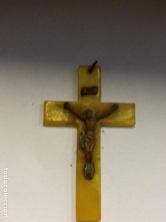CRUZ. COMPLETA TU COLECCION. (Antigüedades - Religiosas - Crucifijos Antiguos)