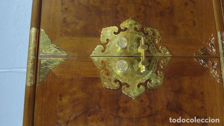 Antigüedades: PRECIOSO MUEBLE ORIENTAL. SEGUNDA MITAD SIGLO XX - Foto 2 - 160713870