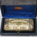 Antigüedades: ANTIGUA TABAQUERA DE PLATA DORADA. SIGLO XIX. Lote 160724302