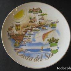 Antigüedades: PLATO COSTA DEL SOL, ANDALUCIA, ALMERIA, CADIZ, MALAGA. Lote 160728722