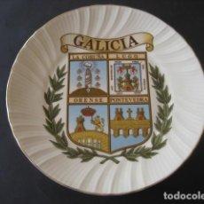 Antigüedades: PLATO DE GALICIA. LA CORUÑA, LUGO, ORENSE, PONTEVEDRA . Lote 160729454