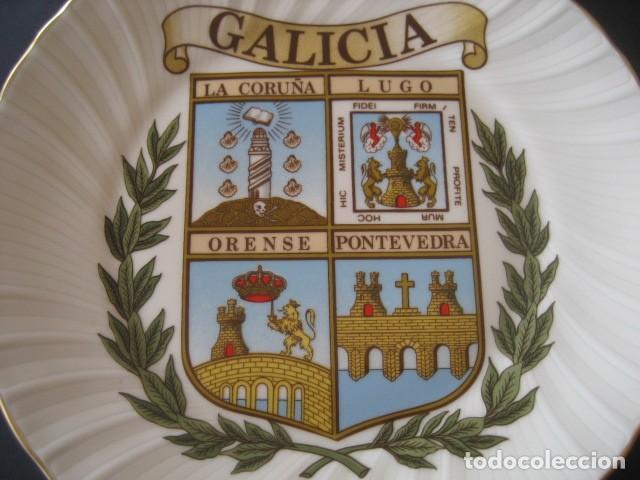 Antigüedades: PLATO DE GALICIA. LA CORUÑA, LUGO, ORENSE, PONTEVEDRA - Foto 2 - 160729454