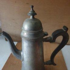 Antigüedades: JARRA CAFE MANGO MADERA. Lote 160730454