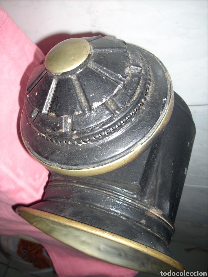 Antigüedades: Farol de Antigua maquina de Tren - Foto 4 - 160745110