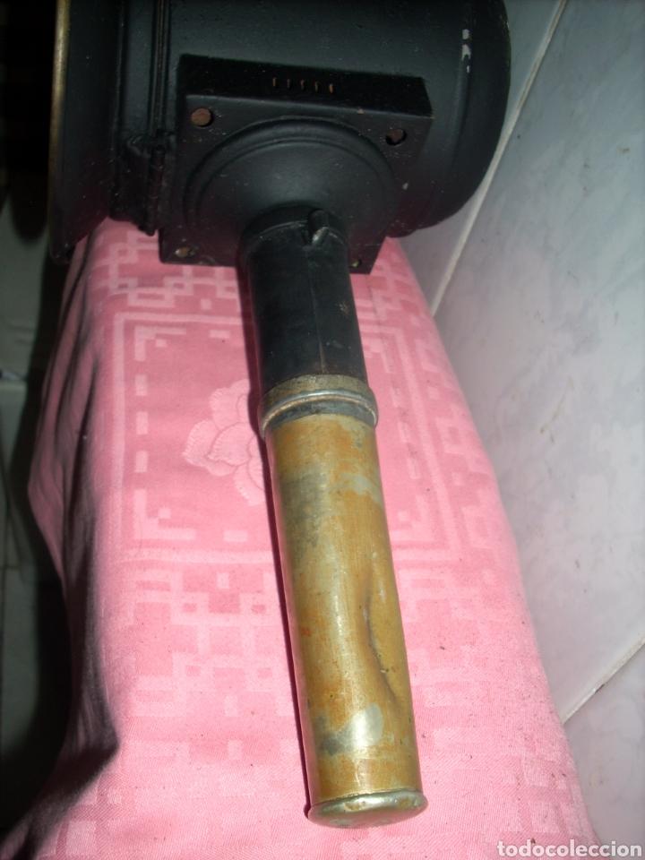 Antigüedades: Farol de Antigua maquina de Tren - Foto 5 - 160745110