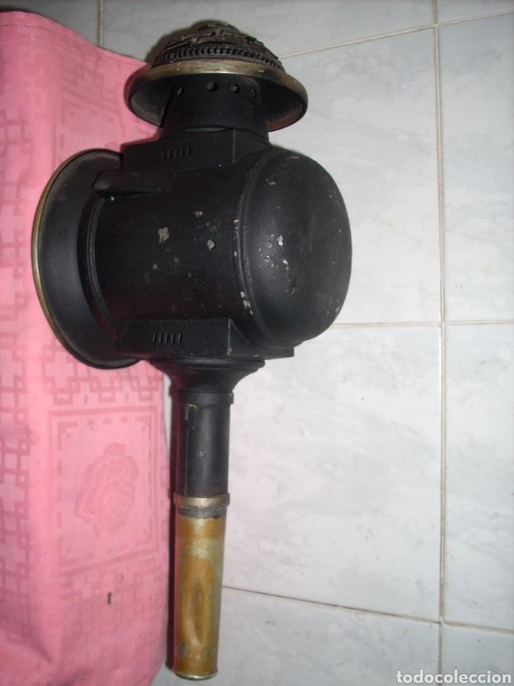 Antigüedades: Farol de Antigua maquina de Tren - Foto 6 - 160745110