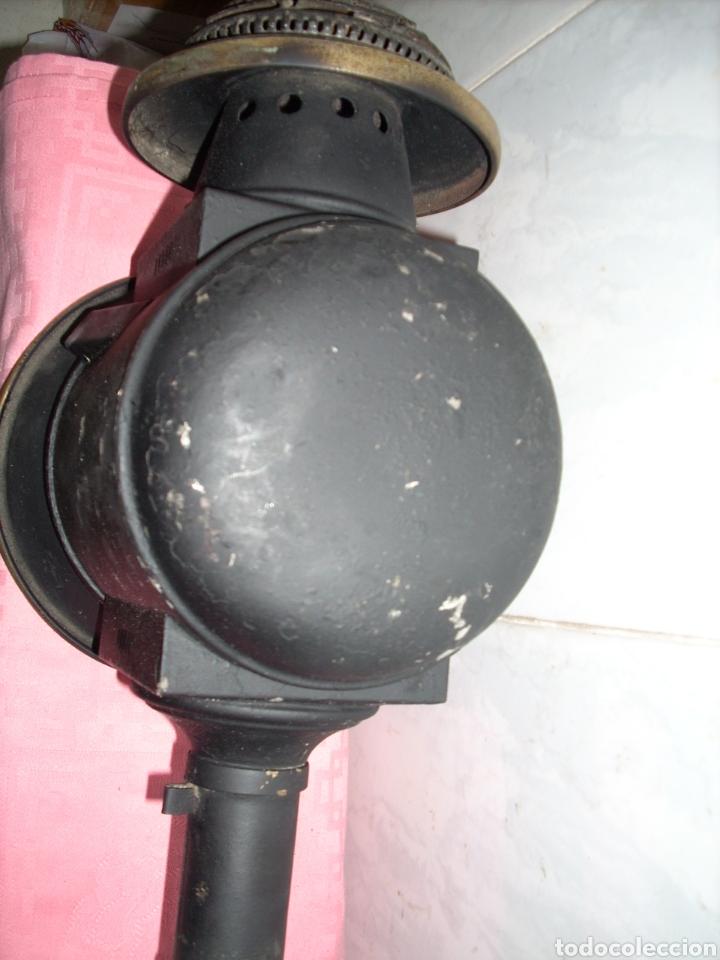 Antigüedades: Farol de Antigua maquina de Tren - Foto 7 - 160745110