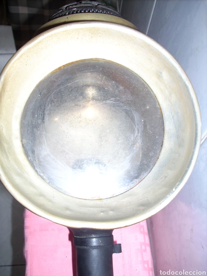 Antigüedades: Farol de Antigua maquina de Tren - Foto 10 - 160745110